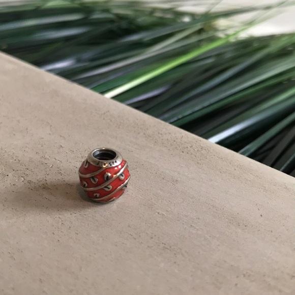 45e82d1a6 Pandora Jewelry | Orange Flower Twist Charm | Poshmark